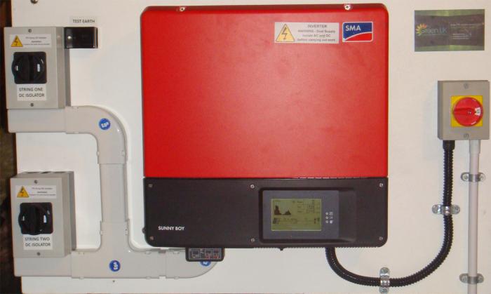 SMA Sunnyboy Inverter Installation in Banchory,Aberdeenshire