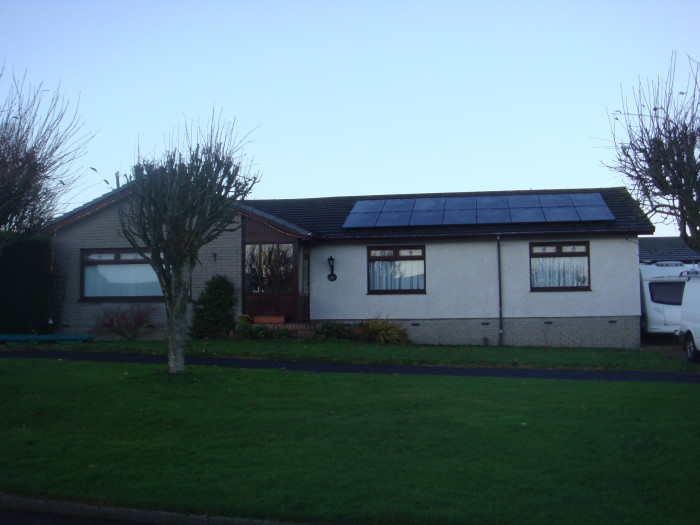 Solar Installation in Tarves,Aberdeenshire